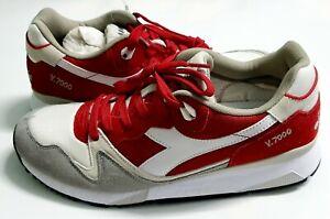 Original Sneakers Diadora V7000 NYL II 501.170939 01 C6649 Pompeian Red / Paloma