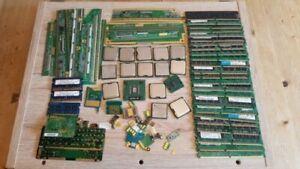 0,98 kg CPUs, Arbeitsspeicher, Platinen Goldschrott Goldgewinnung Recycling