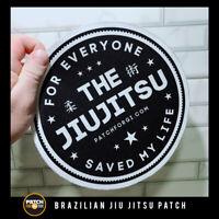 "Brazilian Jiu Jitsu Gi Patch ""the jiu Jitsu"" on Kimono  MMA BJJ  Grappling"