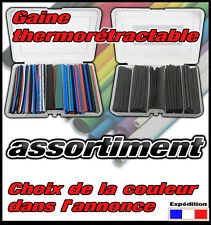995# assortiment de gaine thermo rétractable en boîte 1,5 à 7mm