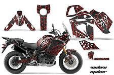 AMR Racing Graphic Wrap Kit Yamaha TENERE 1200 Motorcycle Deco Decal WIDOW RED