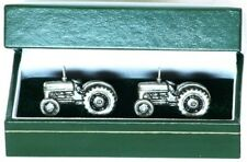 TE20 Massey Ferguson Tractor Cufflinks Pewter Gift  Boxed FREE 1st POSTAGE