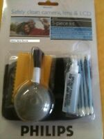 NEW Philips 5 Piece Digital Camcorder Care and Cleaning Kit For lens &  LCD