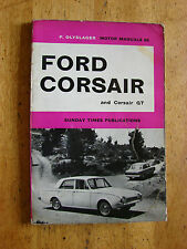 Ford Corsair & Corsair GT 1965 Vintage Car Manual