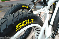 """Fat Tire beach cruiser tires - Set of Duro 26x3"""" two NEW tires / FREE SHIPPING"""