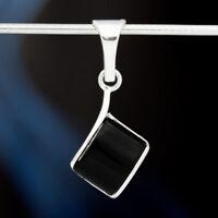 Onyx Silber 925 Anhänger Sterlingsilber Damen Schmuck A0519