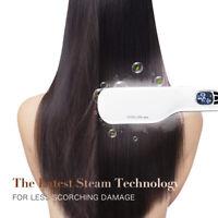 Hair Brush Straightening Brush Hair Straightener Anion Electric Heating Handheld