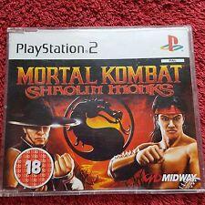 Mortal Kombat Shaolin Monks Promo SONY PLAYSTATION 2 PS2 Juego Completo