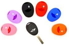 Mini One Cooper S 2 button Smart Key Case soft silicone cover