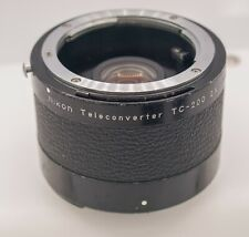 Nikon TC-200 2x Tele-Converter For AI Mount Cameras & Lenses - Rough!