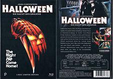 HALLOWEEN (1978) --- Mediabook (Inked Pictures) --- Blu-ray + DVD ---