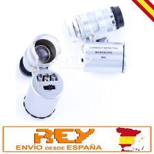 Microscopio LUPA 60x Nuevo para iPhone 4 4S + Luz LED + FUNDA + Carcasa i228