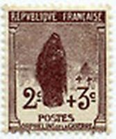 "FRANCE STAMP TIMBRE YVERT N° 148 "" ORPHELINS DE LA GUERRE  2c + 3c "" NEUF x TB"