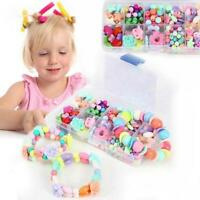 Beads Set for Jewelry Making Kids Adults Children Craft DIY Necklace CO