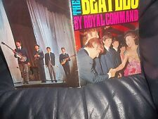 THE BEATLES 1963 ROYAL COMMAND OFFICIAL PERFORMANCE MAGAZINE LOVELY CONDITION