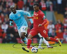 Daniel Sturridge Liverpool Lfc England Signed Full Autograph 8X10 Photo Coa #2