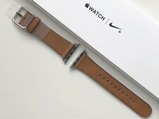Apple Watch Leather Classic Buckle Strap 38/40mm SADDLE BROWN **RARE**