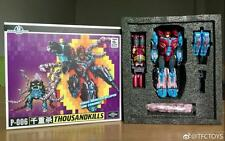 NEW Transformers TFC Toy Poseidon P-006 Thousandkills Tentakil Piranacon InStock