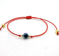 NEW String Turkish Lucky Evil Eye Bracelets Lucky Red rope Adjustable Bracelet