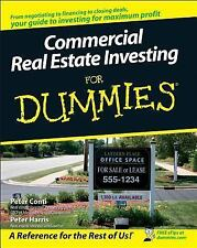 Commercial Real Estate Investing for Dummies (Paperback or Softback)
