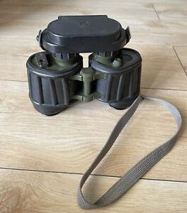 Carl Zeiss Jena DDR NVA DF 7x40 Fernglas + Strichplatte