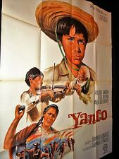 YANCO  ! affiche cinema  1960