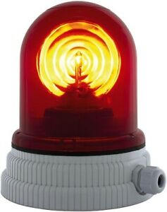 Andersson's Agentur - Rotary lamp 240VAC 55W Red - 200R.240 R
