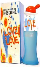 MOSCHINO CHEAP&CHIC I LOVE LOVE Eau De Toilette Spray 1.7 Oz / 50 ml BRAND NEW !