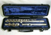 Selmer USA Model 1206 Student Flute Silver Plated Finish w/ Hard Case  VERY GOOD