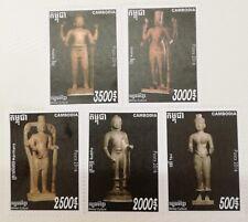 Cambodia Khmer Stamp 2016 Set Collection Khmer Culture 5V