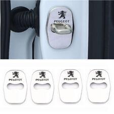 Stainless steel Door Lock Striker Cover for Peugeot 208 2008 3008 301 308 508
