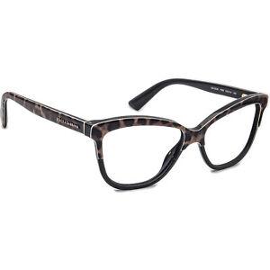 Dolce & Gabbana Eyeglasses DG 3229 1995 Leopard Cat Eye Frame Italy 54[]14 140