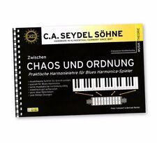 C.A. Seydel Söhne Praktische Harmonielehre für Blues Harmonica Spieler Buch Neu