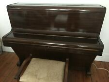 More details for challen upright piano - 1950s - collection london sw16