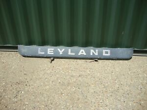 LEYLAND ROAD TRAIN LORRY FRONT GRILLE TOP PANEL ALUMINIUM
