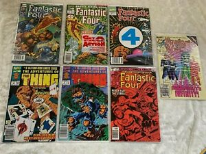 Fantastic Four / The Thing Comic lot : 3, 4, 1 Jim Lee, 1, 220, 282, 358