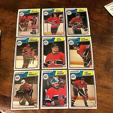 1983-84  O-Pee-Chee  MONTREAL CANADIENS  18 card team  lot