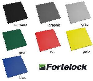 Fortelock 2020 PVC Garagenboden - Werkstattboden - leder - genarbt