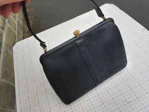 Vintage black lizard handbag by MAPPIN & WEBB fabulous!