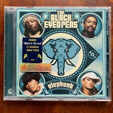 Black Eyed Peas Elephunk Cd Rock Pop Album