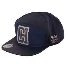 Hommes Crosshatch Réglable Retro Casquette Baseball - Chadden Navy