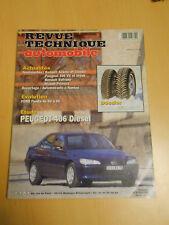 RTA revue technique n° 589 PEUGEOT 406 diesel