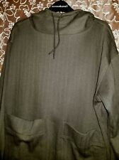 NEW Goblincore Small Olive Green OBR Hooded Pullover Sweat Soft Cinch Bottom
