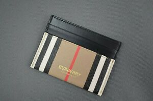 Burberry credit card holder men wallet