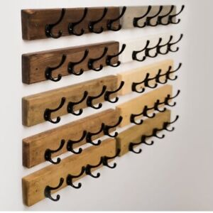 Rustic Coat Rack, Coat Hooks, Coat Rail, Coat Storage, Door Coat Rack, Rustic