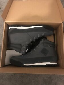 The North Face Mens Back To Berkeley Boots Grey UK 9