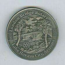 2012-2013 London Bridge Rotary, Lake Havasu City, Arizona, Grand Canyon Medal