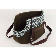 "20"" Puppy Dog Cat Kitty Pet carrier bag travel crate cage Brown 45cm fashionable"