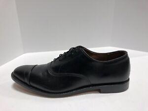 Allen Edmonds Men's Park Avenue, Cap-Toe Oxford-Black, Size 13 C.