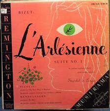 GUSTAV KOSLIK bizet l'arlesienne suite no 1 LP R-199-129 VG 1953 Vinyl Record